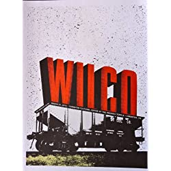 Wilco - Live in Scranton, PA 2010 - Tour Advertising Poster - 10x14