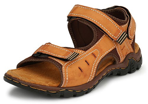29f25a082ded Afrojack Men s Tree Artificial Leather Sandals  Buy Online at Low ...