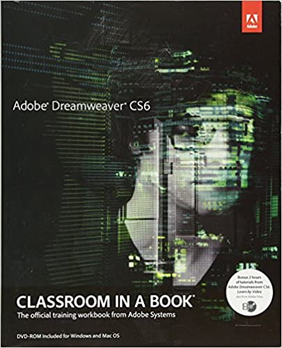 Book Adobe Dreamweaver CS6 Classroom in a Book (Classroom in a Book (Adobe))
