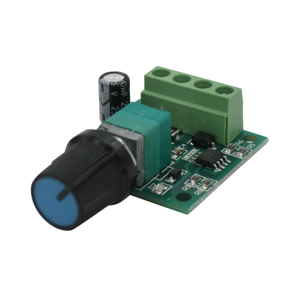 TWTADE/RR-PWM-15V Low Voltage 1.8v 3v 5v 6v 7.2v 12v 2A 30W DC Motor Speed Controller (PWM) Adjustable Driver Switch MX2A12V by TWTADE