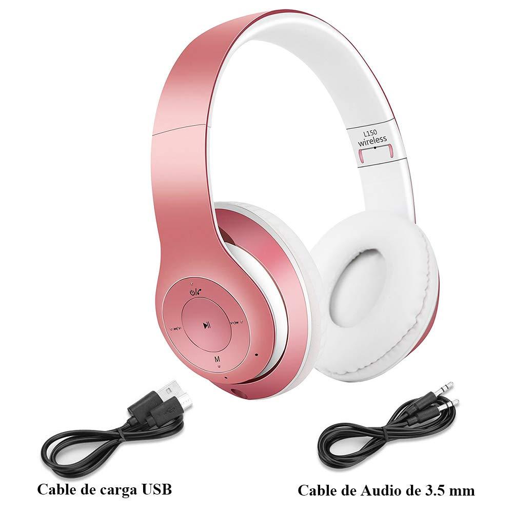 Satohom Auriculares Bluetooth de Diadema Cascos Bluetooth ...