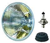 HELLA 002395301 Vision Plus 176mm High/Low Beam 12V Halogen Conversion Headlamp (HB2)