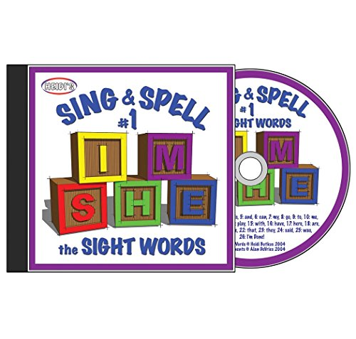 Sing & Spell the Sight Words - Volume 1 (Sing Along Word Music)