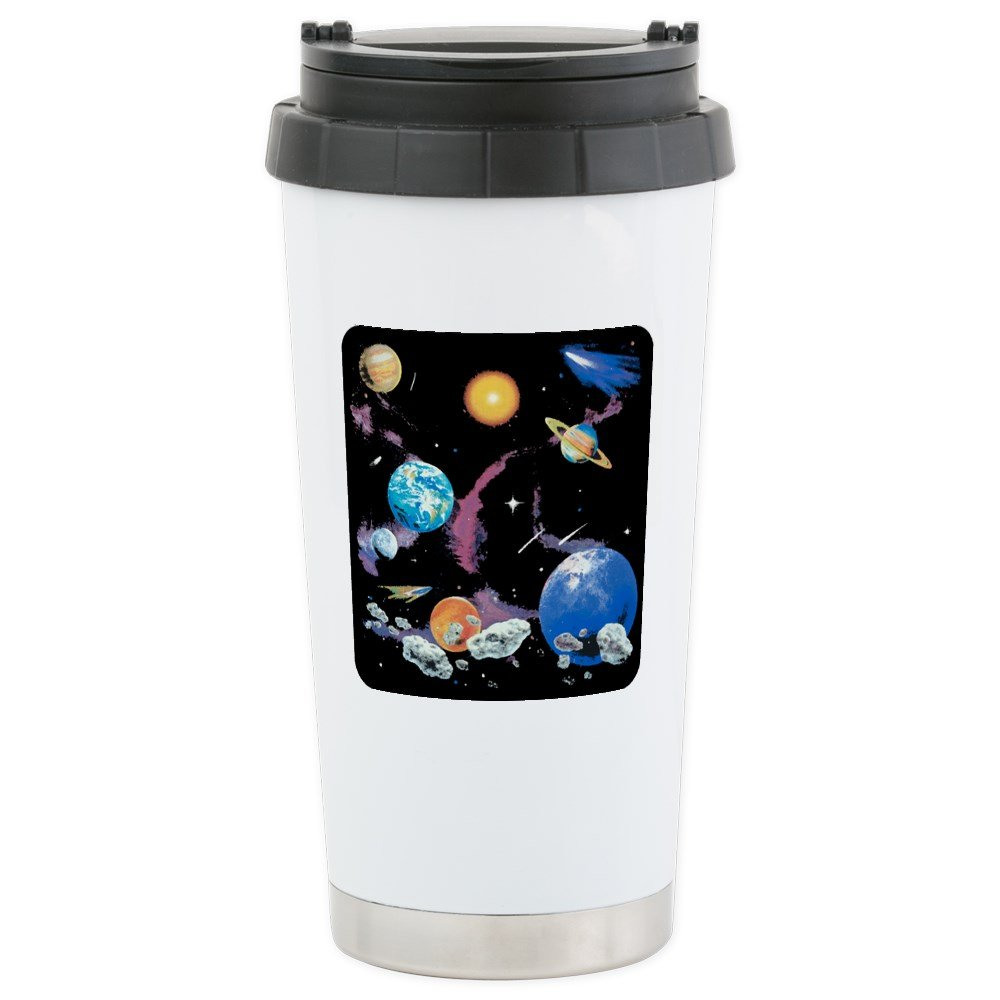 Stainless Steel Travel Drink Mug Solar System And Asteroids