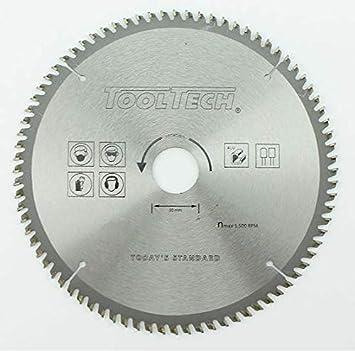 HM Kreissägeblatt Ø 200 x 30 mm 60Z Hartmetall Sägeblatt für Alu Kunststoff Holz