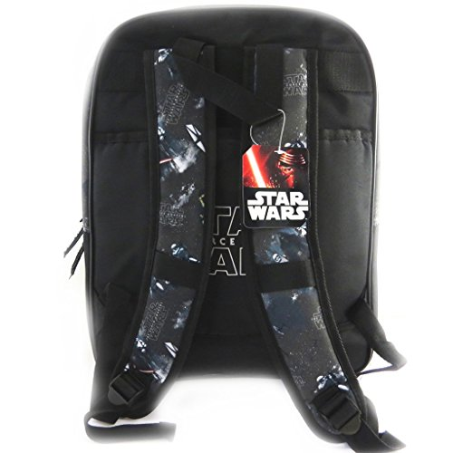 Doppia zaino Star Warsblu nero (42x33x20 cm).