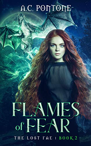 Flames of Fear: Reverse Harem Fantasy (The Lost Fae Book 2)