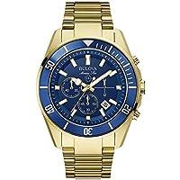Relógio Masculino Bulova Marine Star WB31774Z - Dourado