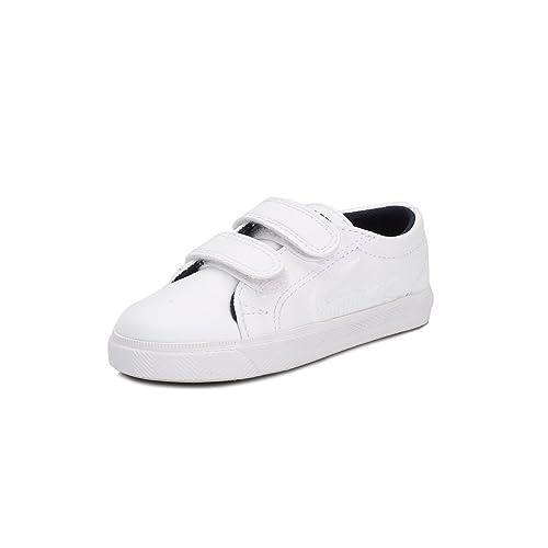Lacoste Niños Blanco Marcel RBR Zapatillas: Amazon.es: Zapatos y complementos