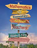 Mathematics for Elementary School Teachers : Process Approach, Fierro, Ricardo D., 0538493631