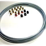 3/16 Brake Line Kit - Steel Roll WITH Fittings