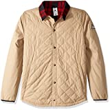 DC Men's Network Water Resistant Reversible Flannel Shirt Jacket, Incense, S