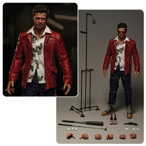 [Fight Club Tyler Durden Red Jacket Version Action Figure] (Fight Club Tyler Durden Costume)