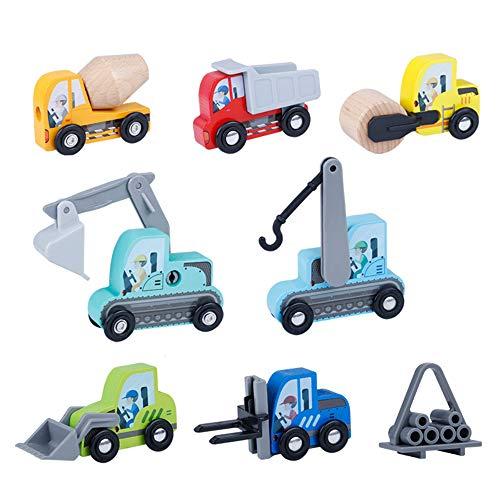 - GRACEON Children's car Model Engineering Truck Excavator Educational Toy Tool cart
