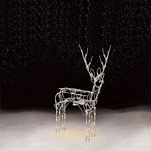 Christmas lighted reindeer outdoor amazon aloadofball Image collections