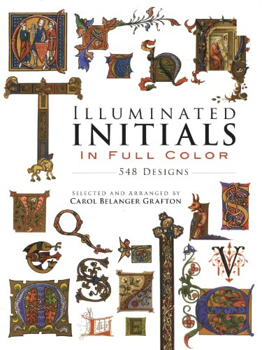 Illuminated Initials Color Pictorial Archive ebook product image