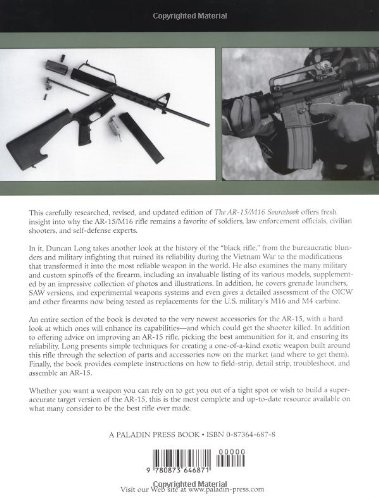 Complete Ar 15m16 Sourcebook What Every Shooter Needs To Know