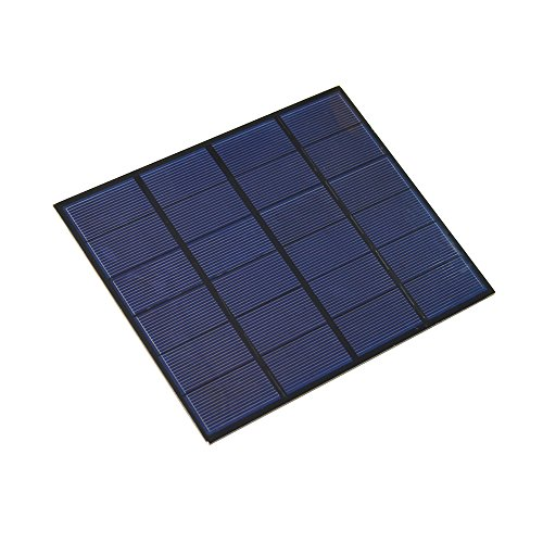 visiPower 3.5W 6V Universal Monocrystalline Solar Panel Portable Tool Kit Power Outlet Trichle Battery Charger Adapter by visiPower (Image #2)