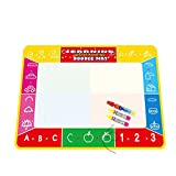 Elaco Water Painting Drawing Writing Board Mat Magic Pen Doodle Toy for Baby Kids Christmas Gift 10073cm(C)