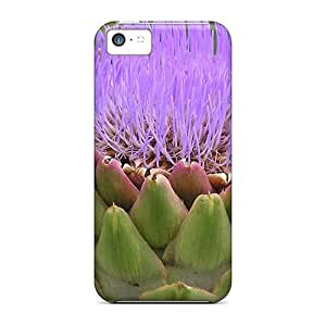 Shockproof Scratcheproof Artichoke Is Also Nice As Flower Hard Cases Covers For Iphone 5c