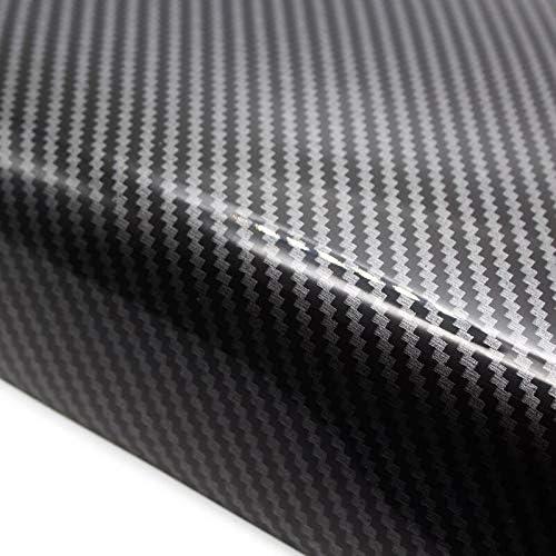 Jejhmy Apto para BMW X5 E70 2008 2009 2010 2011 2012 2013 Textura de Fibra de Carbono de Coche Control Central Interior Reposabrazos Caja Pad Cubierta Protectora