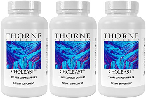 Choleast capsules Pack Thorne Research product image