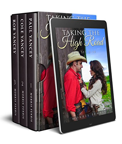 Taking the High Road Box Set 8-10: Christmas Holiday Western Romance 2019