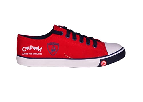 993a41a2bf9 CPM Men s Red   Navy Blue Sneaker - 10(UK India)  Amazon.in  Shoes ...