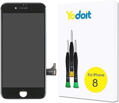 Yodoit para iPhone 8 LCD Pantalla y Montaje Digitalizador Pantalla ...
