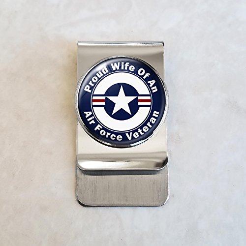 Air Force Veteran Proud Family Money Clip