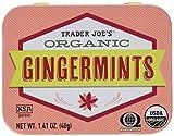 Trader Joe's Organic Gingermints, 1.41 oz Tin (Pack of 4) Gluten Free Vegan