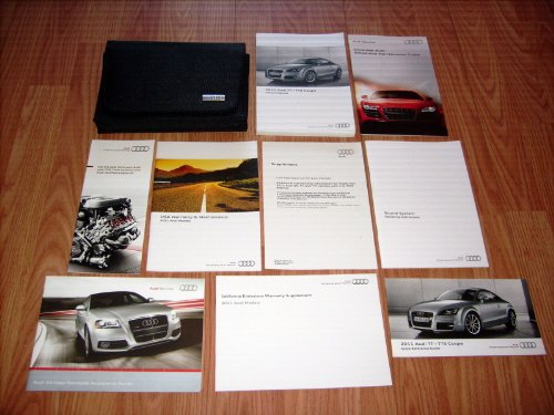 2011 Audi TT / TTS Coupe Owners Manual (Manual Tt Coupes)