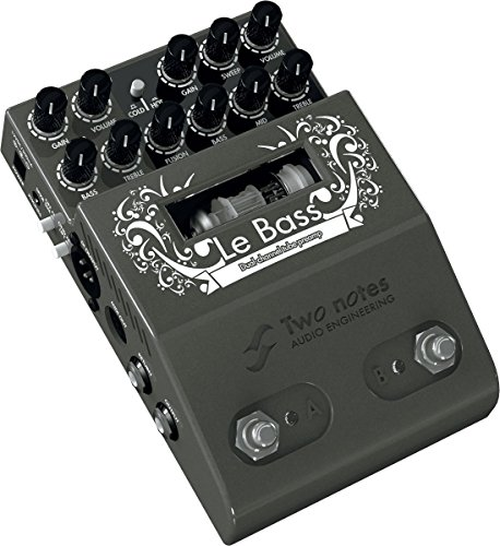 Two Notes Le Bass - 2-Channel Tube Bass Preamp