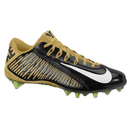 94fe1b7f15b1 Galleon - Nike Vapor Carbon Elite TD Mens Football Cleats (16 D(M) US,  Black/Gold)