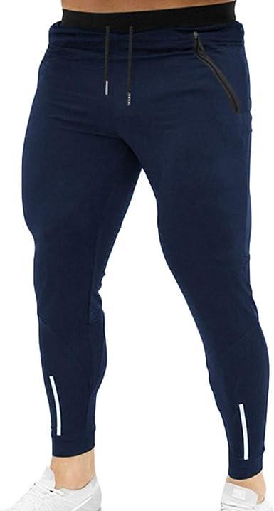 Pantalones para Hombre, Chándal de Hombres Deportivos Running ...