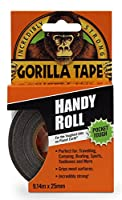 "Gorilla Duct Tape To-Go, 1"" x 10 yd., Black"