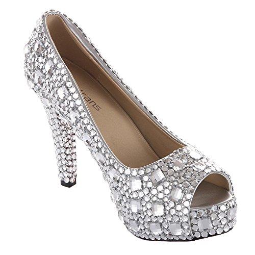 wedding shoes weddingshoesvelcans silver wedding high heel
