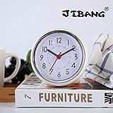 JIBANG Waterproof Bathroom Clock, Desktop Clocks