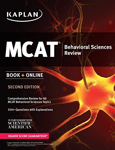 Kaplan MCAT Behavioral Sciences Review: Book + Online (Kaplan Test Prep)