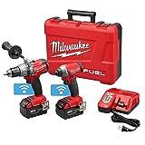 Milwaukee 2796-22 M18 FUEL 18-Volt Cordless Power 2-Tool Combo Kit w/ One Key --W#436BRE T44/35PDS121209