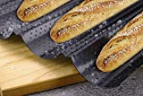 French Bread Baking Pan Nonstick Perforated