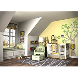 5 piece OWL Crib Bedding Set for Girls | Boys by DK Leigh