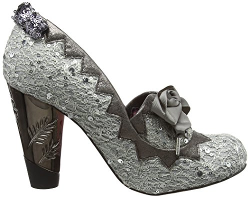 Irregular Choice Women's Bubbles Gum Closed-Toe Heels Silver (Silver) outlet pick a best shopping online clearance clearance low shipping fee sale outlet store eXqllCVNl1