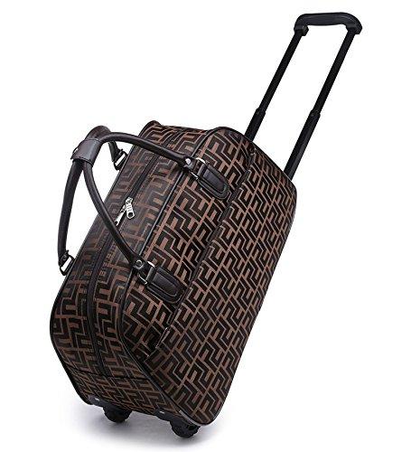 Big Handbag in Flight Urlaub Reisetasche Handgepäck Weekend Trolley Tasche Purple - Hollywood Actor Actress Print