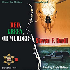 Red, Green, or Murder Audiobook