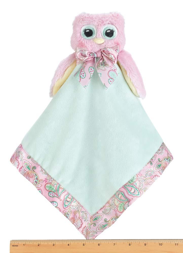 Amazon.com: Bearington Baby Little Hoots Owl Snuggler, felpa ...