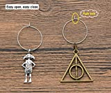 Potter Drink Markers Wine Glass Charms Decor