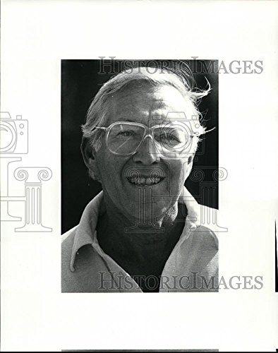 Maccabiah Games - 1985 Press Photo Bud Slessinger who will play tennis Maccabiah Games in Israel