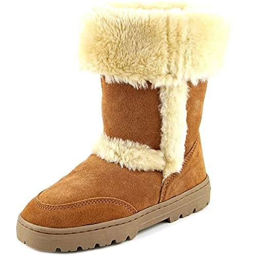Style & Co. Womens Witty Leather Closed Toe Mid-Calf Cold Weather Boots Chestnut Size 8 M US from Style & Co.