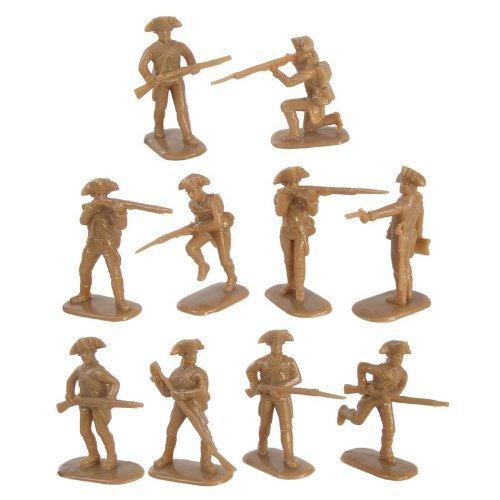 Armies in Plastic American Revolution American Militia Infantry (20) 1/32